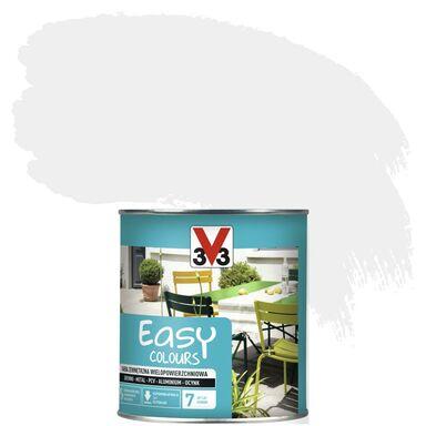 Farba zewnętrzna wielopowierzchniowa EASY COLOURS 0.75 l Biały Satynowy V33