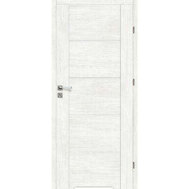 Skrzydło drzwiowe z podcięciem wentylacyjnym MALIBU Bianco 60 Prawe ARTENS