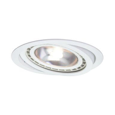 Oprawa stropowa oczko NERO ruchoma IP20 śr. 14.3 cm biała GU10 LIGHT PRESTIGE