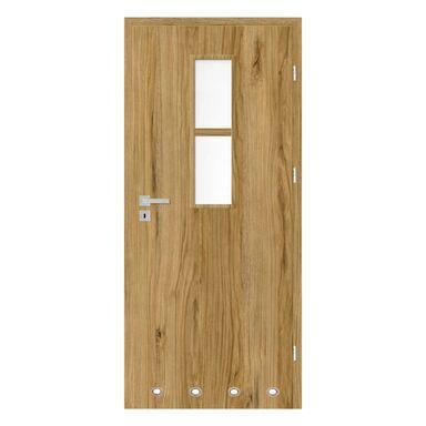 Skrzydło drzwiowe z tulejami wentylacyjnymi Mila Dąb catania 90 Prawe Nawadoor