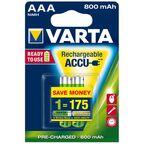 Akumulatorki HR03 / AAA VARTA
