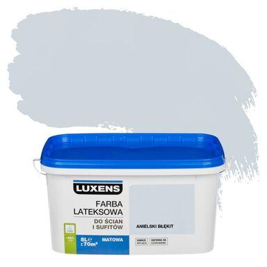 Farba wewnętrzna DO ŚCIAN I SUFITÓW 5 l Anielski błękit LUXENS