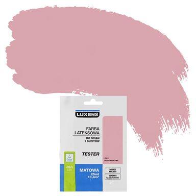 Tester farby DO ŚCIAN I SUFITÓW 25 ml Lody truskawkowe LUXENS