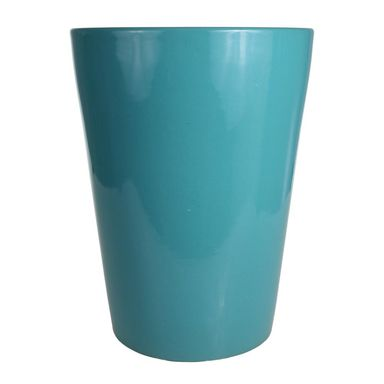 Donica ceramiczna 27 cm turkusowa