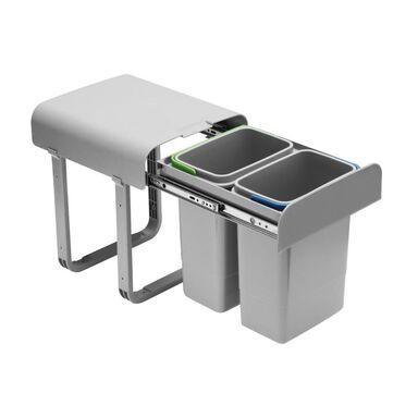 Kosz na śmieci do segregacji PB-90144100PCT 2 x 8 l GTV