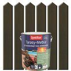 Olej zewnętrzny TARASY-MEBLE szybkoschnący 5 l Dąb palony SYNTILOR