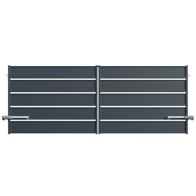 Brama dwuskrzydłowa z automatem OPAL 350 x 150 cm POLARGOS