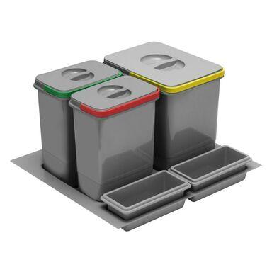 Kosz na śmieci do segregacji PB-91114100B5 1 x 15/2 x 7 lGTV