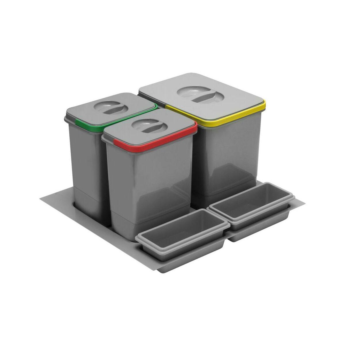 Kosz na śmieci do segregacji PB-91114100B5 GTV