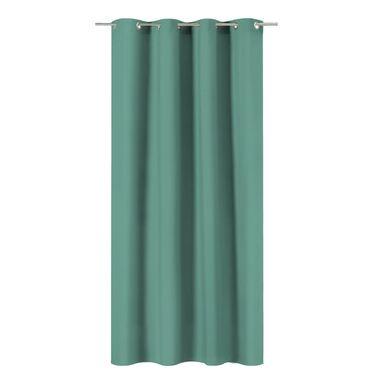 Zasłona Pharell soczysta zieleń 140 x 280 cm na przelotkach Inspire