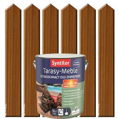 Olej do mebli ogrodowych i tarasów 5 l SYNTILOR
