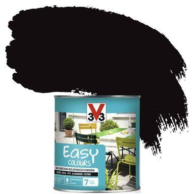 Farba zewnętrzna wielopowierzchniowa EASY COLOURS 0.75 l Czarny Satynowy V33