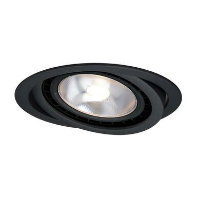 Oprawa stropowa oczko NERO ruchoma IP20 śr. 14.3 cm czarna GU10 LIGHT PRESTIGE