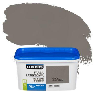 Farba wewnętrzna do ścian i sufitów EMULSJA 5 l Sonata księżycowa LUXENS