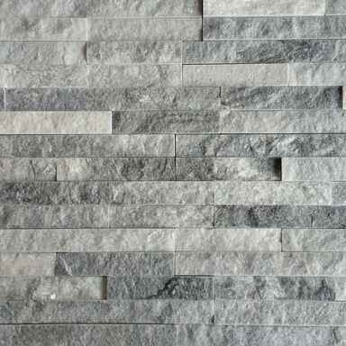 Kamień naturalny WALL CRAZY SILVER GREY 40 x 10 cm KNAP