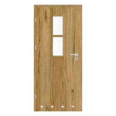 Skrzydło drzwiowe z tulejami wentylacyjnymi Mila Dąb catania 70 Lewe Nawadoor