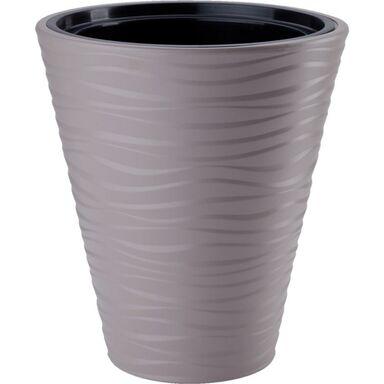 Doniczka plastikowa 40 cm beżowa SAHARA FORM-PLASTIC