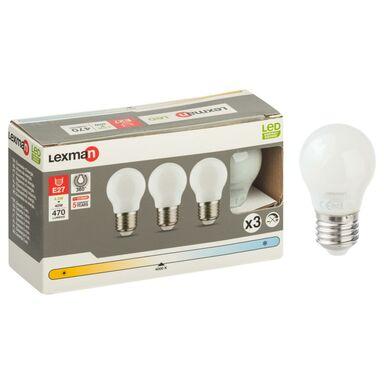 Zestaw żarówek LED E27 (230 V) 4,5 W 470 lm Neutralny LEXMAN