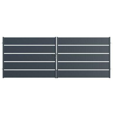 Brama dwuskrzydłowa OPAL 300 x 150 cm POLARGOS