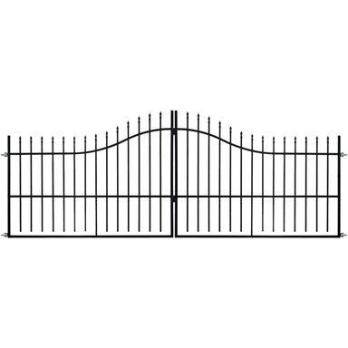 Brama dwuskrzydłowa WIKTOR 400 cm POLBRAM