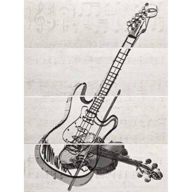Obraz CERAMIKA PARADYŻ MUSIC GUITAR