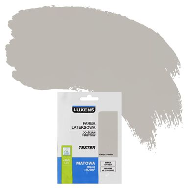 Tester farby DO ŚCIAN I SUFITÓW 25 ml Kwarc dymny LUXENS