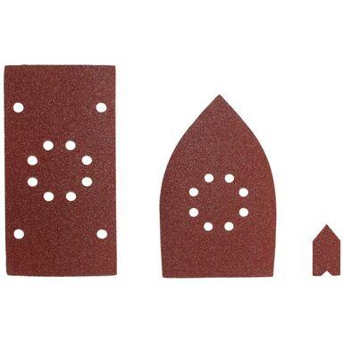 Zestaw papierów ściernych SMS30A  92, 100 mm  0 mm  P80, 100, 120 RYOBI
