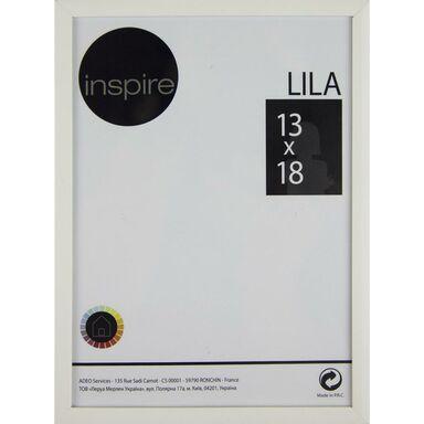 Ramka LILA 13 x 18 cm biała INSPIRE