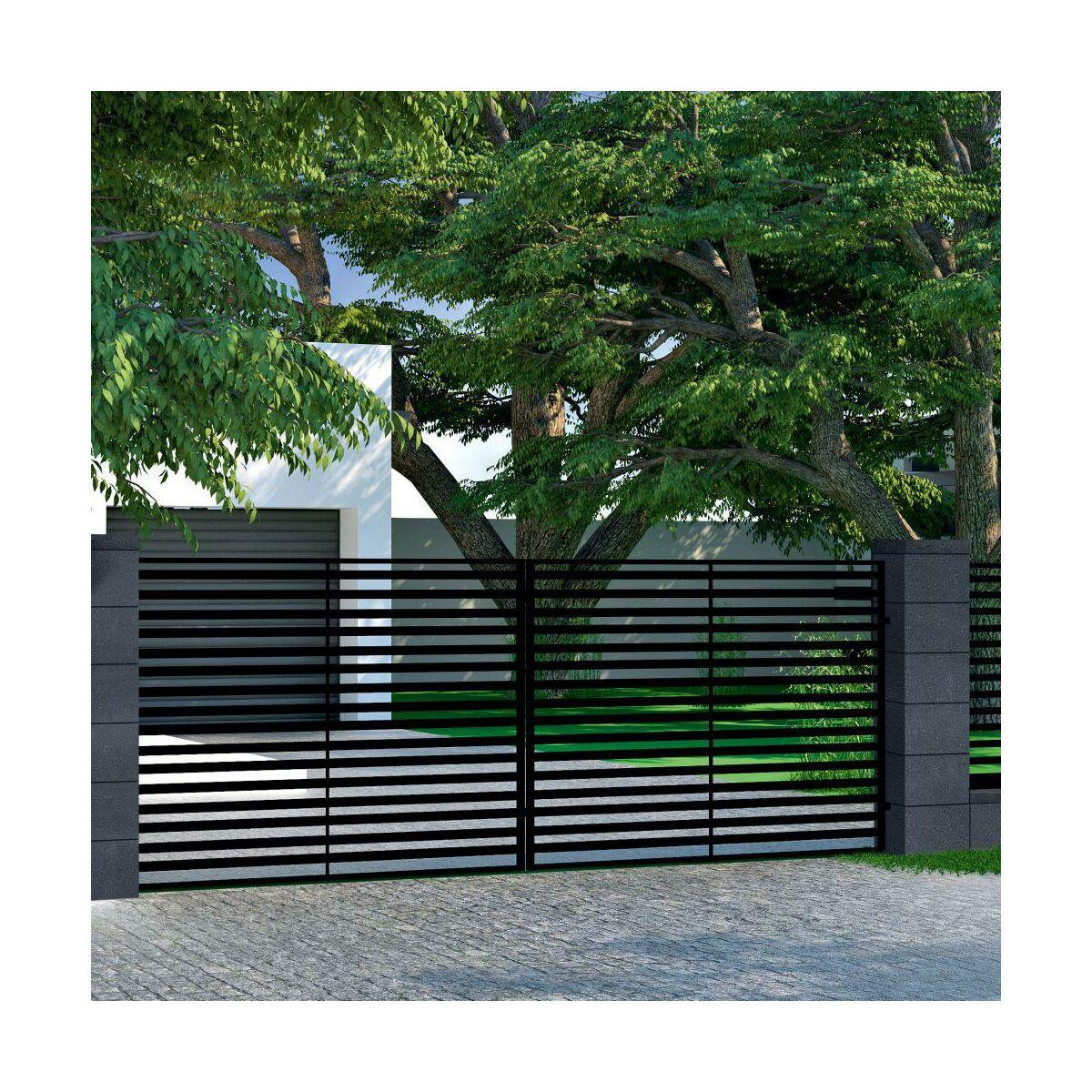 Panel Ogrodzeniowy Vera 173 X 250 Cm Ocynk Wisniowski Panele Ogrodzeniowe W Atrakcyjnej Cenie W Sklepach Leroy Merlin