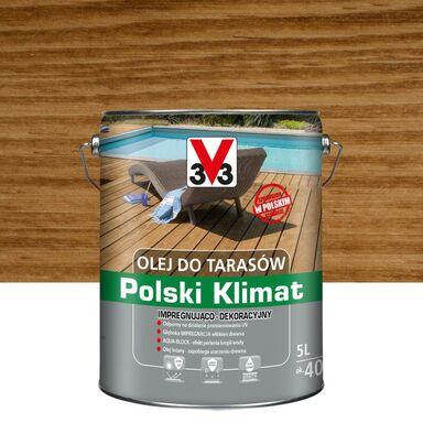 Olej do tarasów Polski Klimat 5 l dąb V33