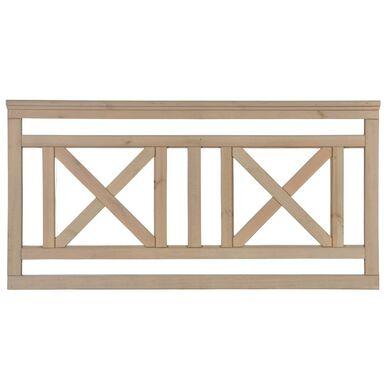 Płot tarasowy 180x90 cm drewniany KEN SOBEX