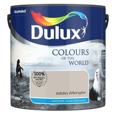 Farba wewnętrzna KOLORY ŚWIATA 2.5 l Zatoka Wikingów DULUX