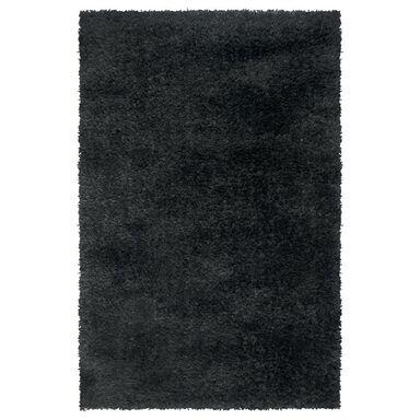 Dywan shaggy NEW TOUCH czarny 117 x 170 cm