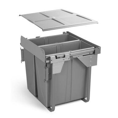 Kosz na śmieci wysuwany PB-0M2X34-60MB GTV