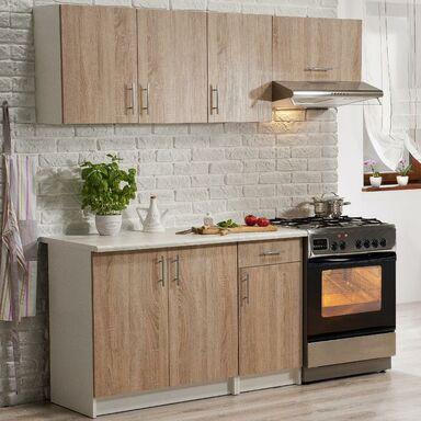 Zestaw mebli kuchennych OLA 2 kolor Dąb sonoma DEFTRANS