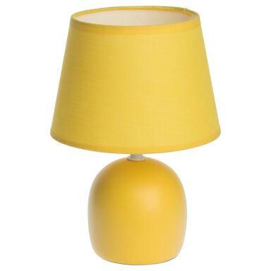 Lampa stołowa POKI żółta INSPIRE