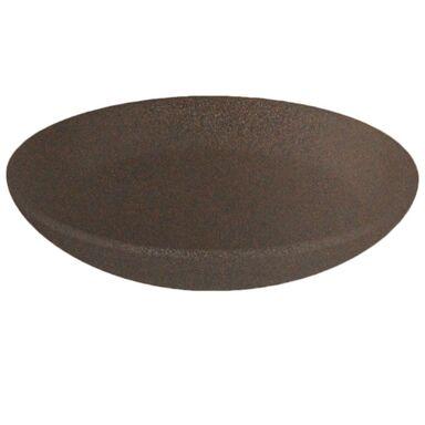 Podstawka ceramiczna 17 cm brązowa