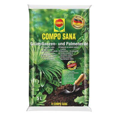 Podłoże do roślin zielonych i palm 5 l COMPO SANA