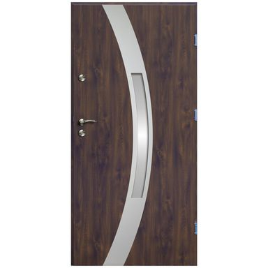 Drzwi wejściowe VERTE ARC  prawe 90