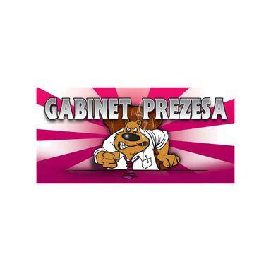 Znak informacyjny GABINET PREZESA 9 x 20 cm