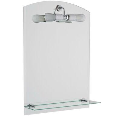 Lustro łazienkowe z oświetleniem kinkietowym LUNA 50 x 70 VENTI