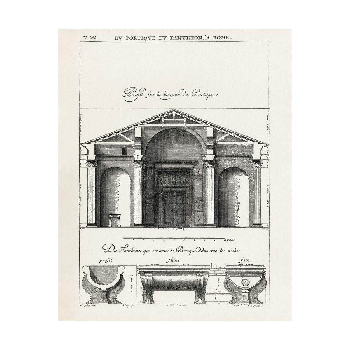 Plakat Architektura Szkic 40 X 50 Cm
