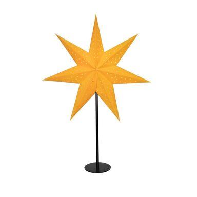 Gwiazda podświetlana 45 cm 1 szt. żółta