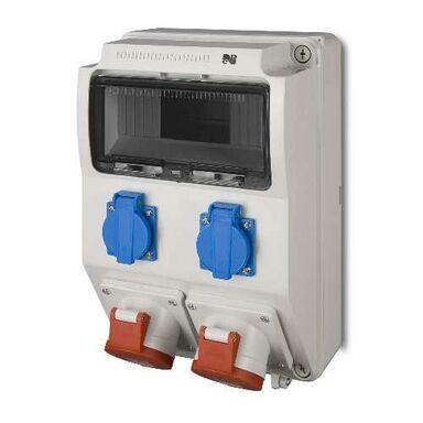 Rozdzielnica elektryczna bez wyposażenia RS2X2P + Z16 / 32A / 5 ELEKTRO-PLAST