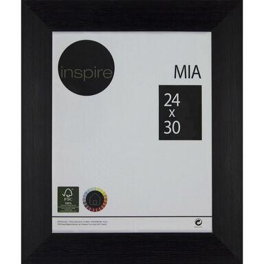 Ramka na zdjęcia MIA 24 x 30 cm czarna MDF INSPIRE