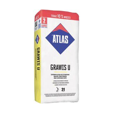Zaprawa klejąca do styropianu i zatapiania siatki GRAWIS U 25 kg + 2.5 kg  ATLAS