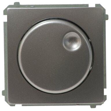 Ściemniacz obrotowy BASIC  Srebrny  KONTAKT SIMON