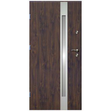 Drzwi wejściowe VERTE II Orzech 80 Lewe OK DOORS TRENDLINE