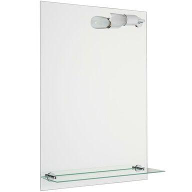 Lustro łazienkowe z oświetleniem kinkietowym LUKI 2 50 x 70 VENTI