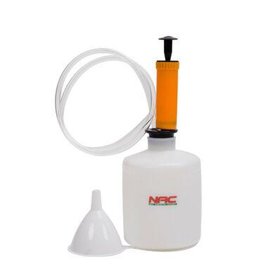 Zestaw: wysysarka, pojemnik i lejek KXOE-005 NAC
